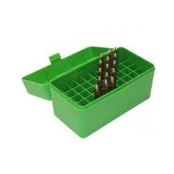 MTM AMMO CASE STD 243 308 22-250 GREEN (50)