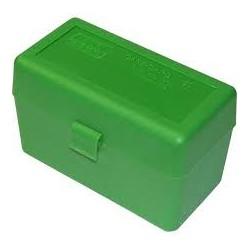 MTM AMMO CASE STD 270 30-06 25-06 GREEN (50)